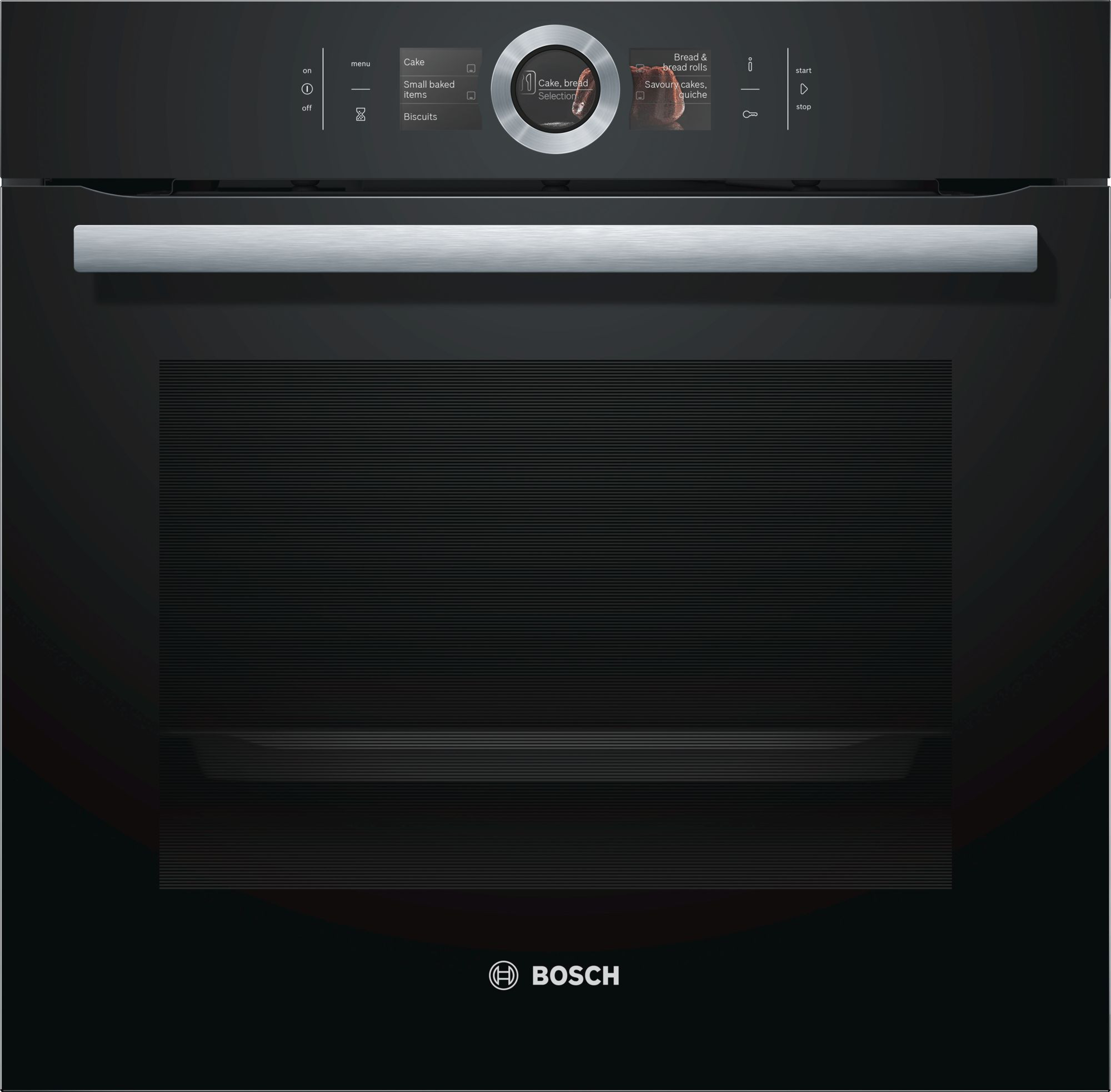 Bosch Serie 8 HBG656RB1B Black Built-in Oven