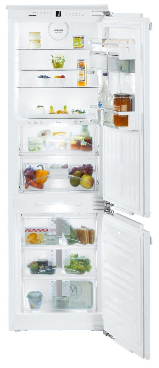 Liebherr ICBN3376 Built-In Premium BioFresh White Fridge Freezer