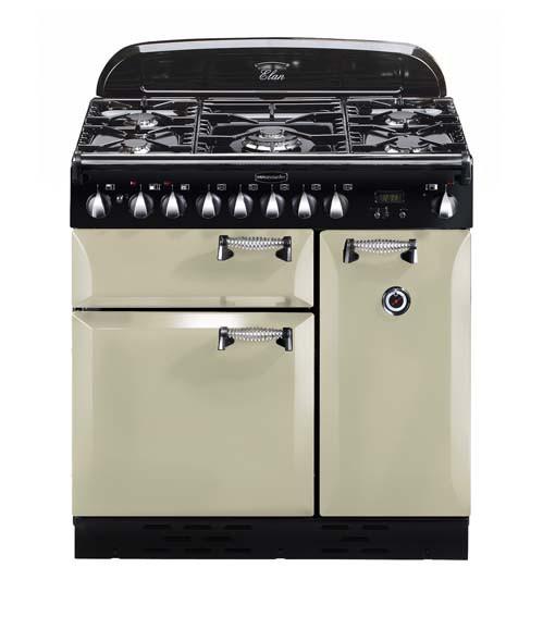 Rangemaster Elan 90 Dual Fuel Cream Range Cooker ELAS90DFFCR/ 72920
