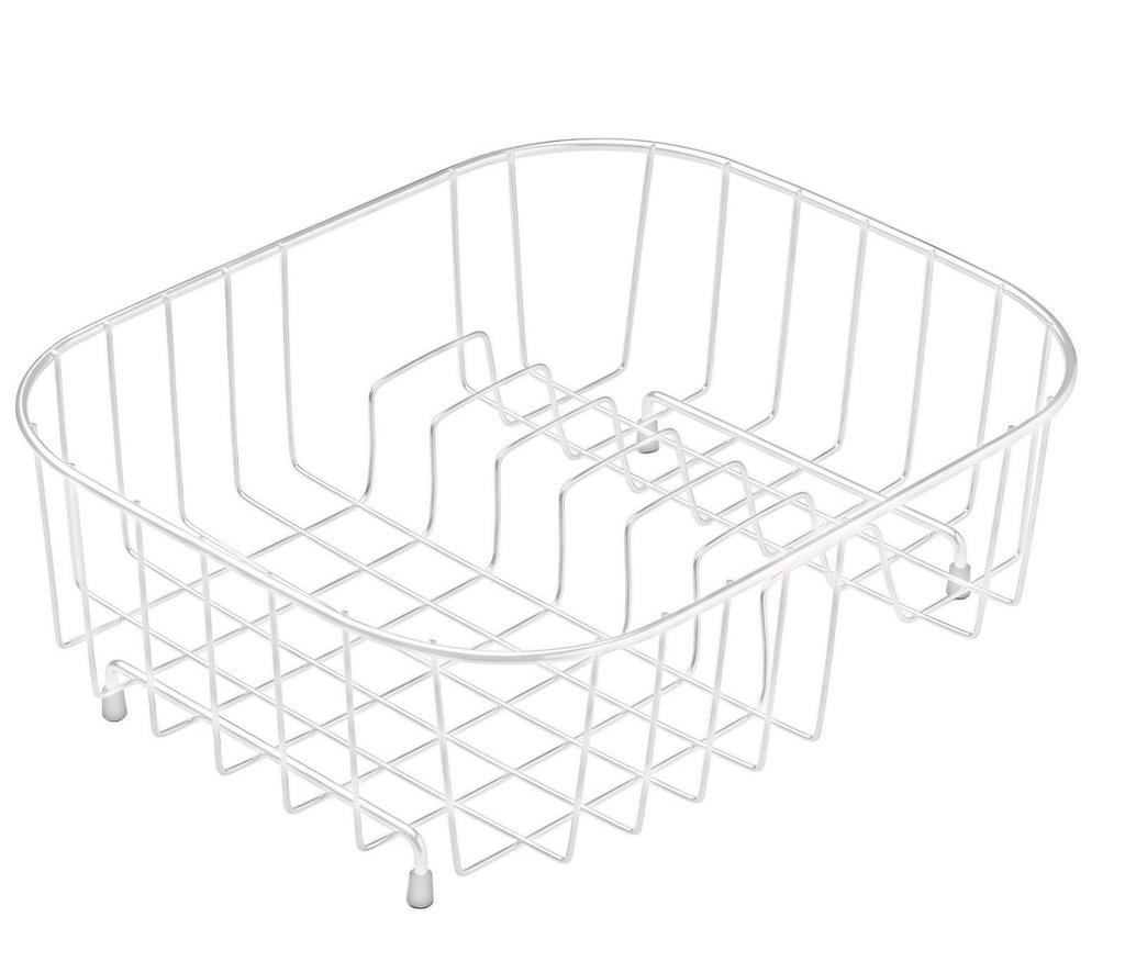 White Draining Basket - KA02WH