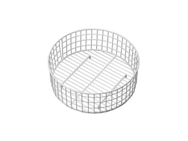 Stainless Steel Round Bowl Basket - KA46SS