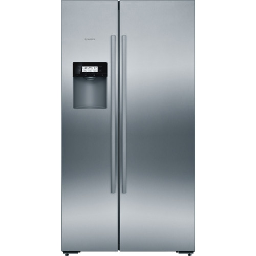 Bosch Serie 6 American-Style Stainless Steel Fridge Freezer KAD92AI20G