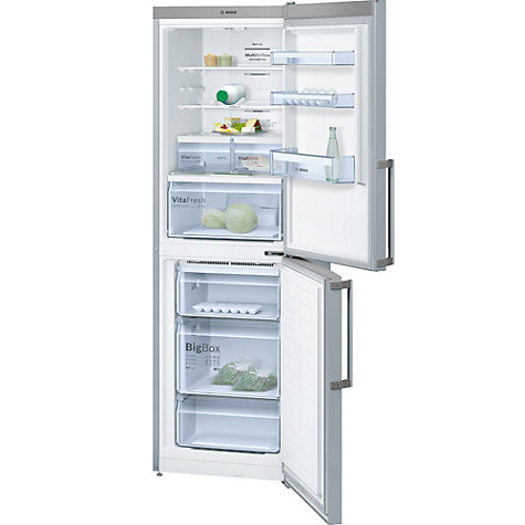 Bosch Serie 4 KGN34XL35G Stainless Steel Fridge Freezer