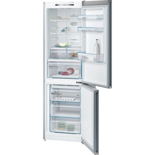 Bosch Serie 4 KGN36VL35G Stainless Steel Fridge Freezer