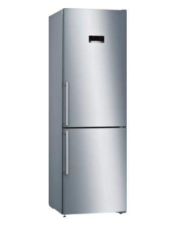 Bosch Serie 4 KGN36XLER 324 Litre A++ Rated Inox Fridge Freezer