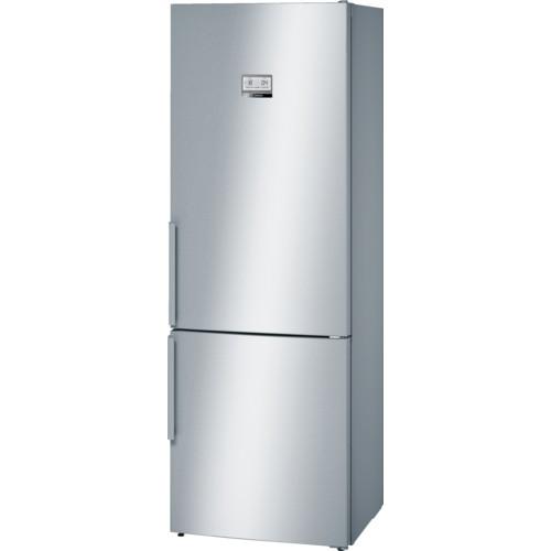 Bosch Serie 6 KGN49AI30G Stainless Steel Fridge Freezer