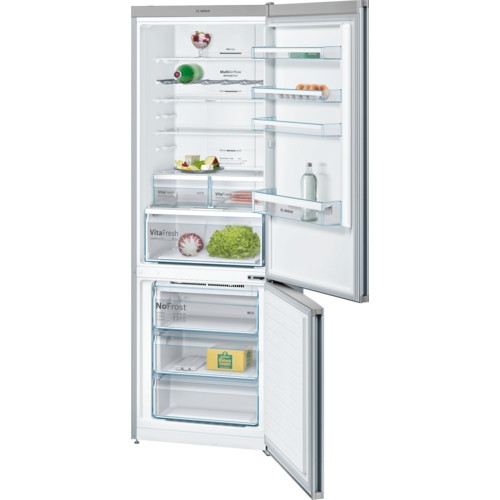 Bosch Serie 4 KGN49XL30G Stainless Steel Fridge Freezer