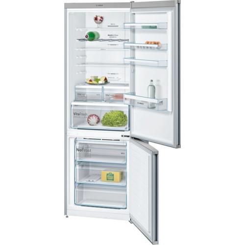 Bosch Serie 4 KGN49XLEA Stainless Steel Fridge Freezer