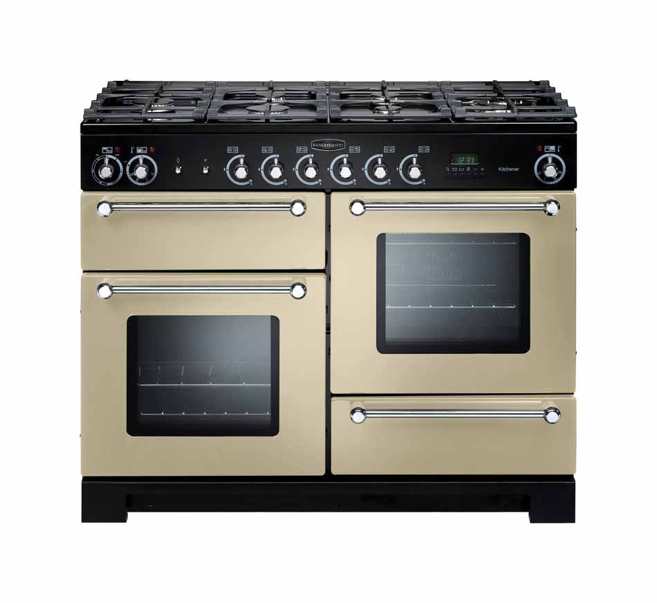 Rangemaster Kitchener 110 Natural Gas Cream Range Cooker KCH110NGFCR/C 116700