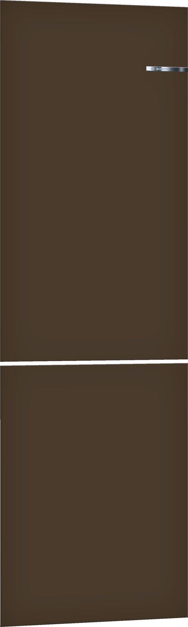 Bosch KSZ1BVD00 203cm Espresso Brown Vario Style Clip Door Set