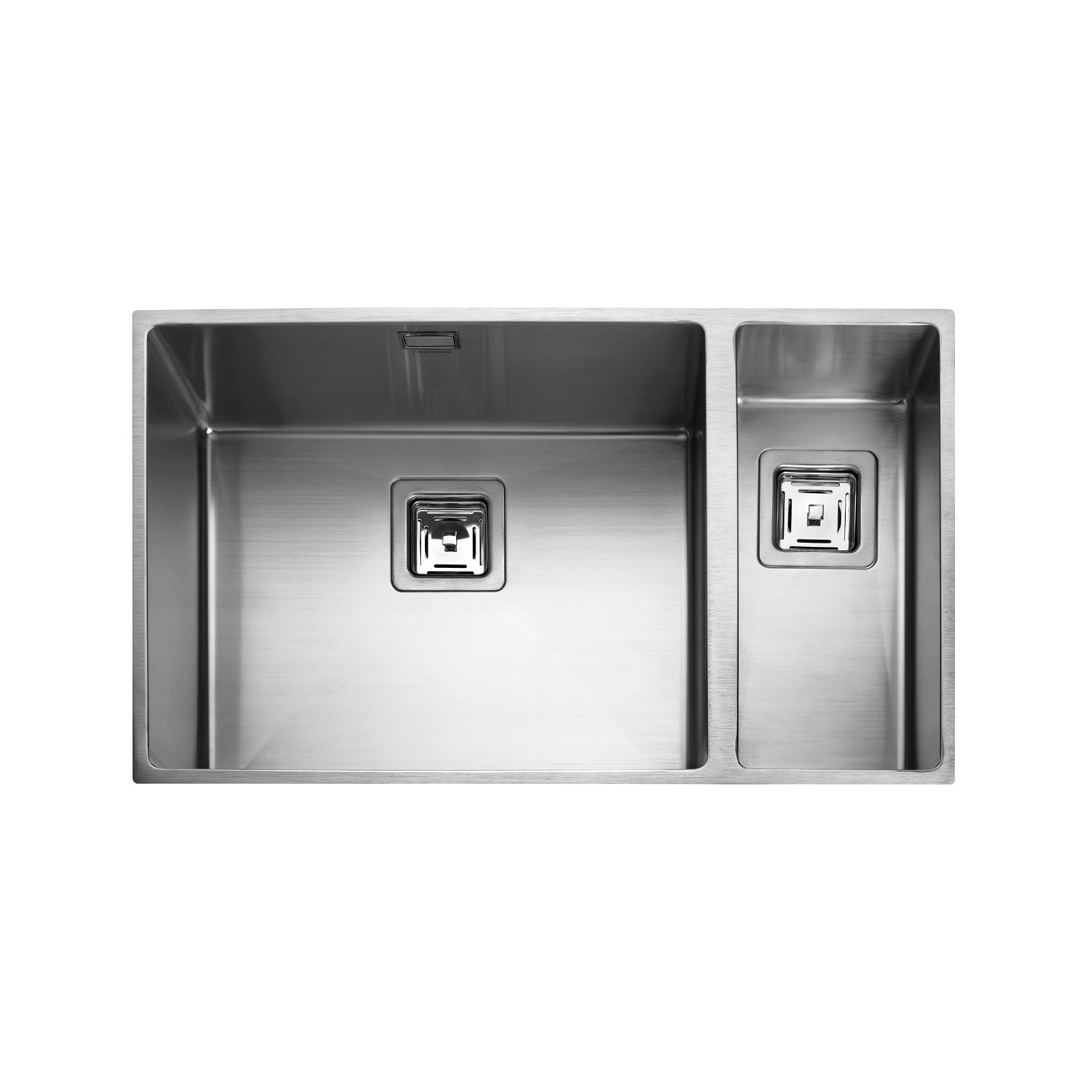 Rangemaster Kube KUB5018R/ 1.5 Bowl Undermount Sink Right