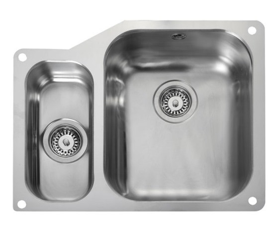 Rangemaster Atlantic Double Undermount Sink UB3515 Left