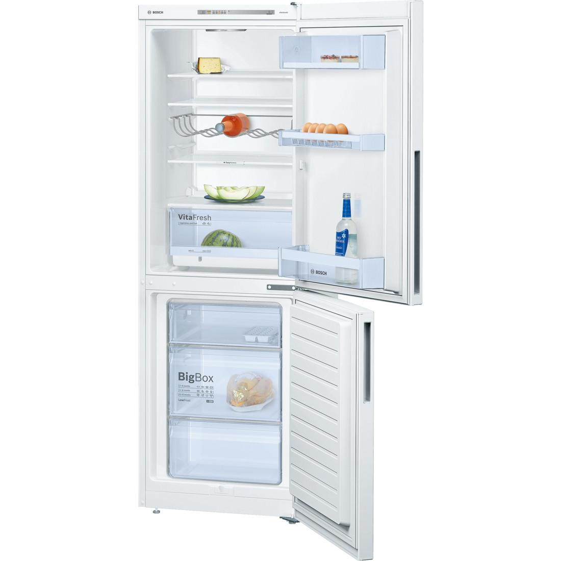 Bosch Serie 4 KGV33XW30G Freestanding White Fridge Freezer