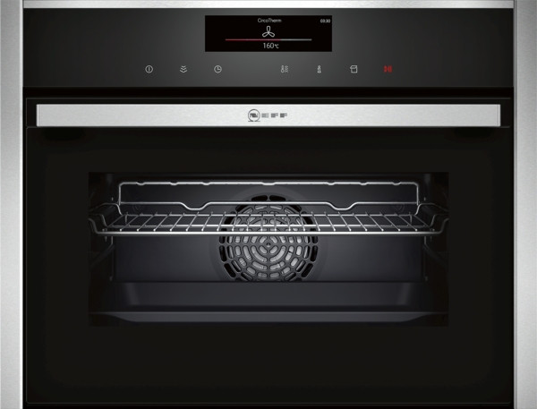 Neff N90 Compact 45cm Oven with Full Steam C18FT56N1B