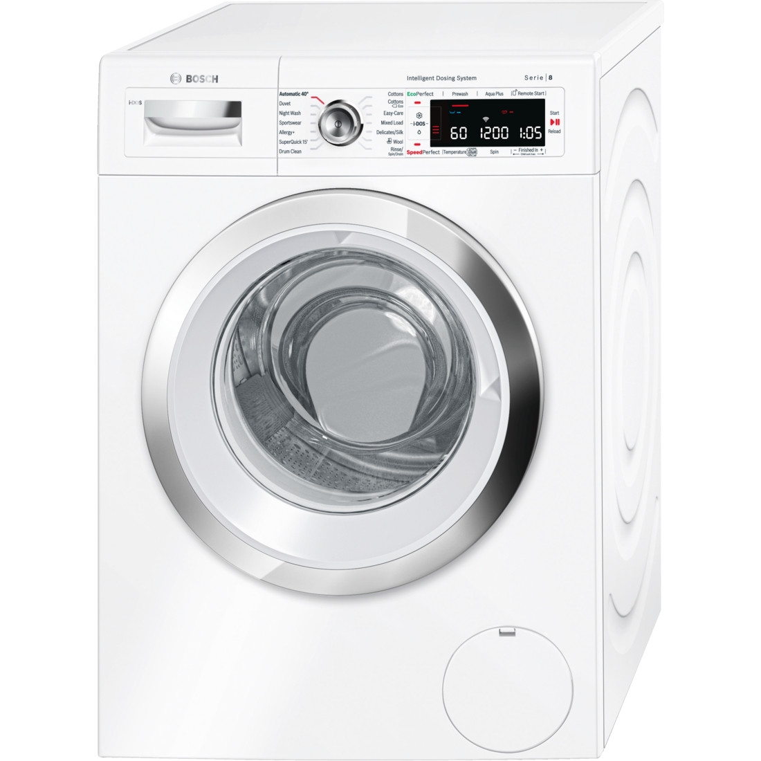 Bosch WAWH8660GB Serie 8 Automatic Freestanding i-Dos 9kg A+++ Rated Washing Machine
