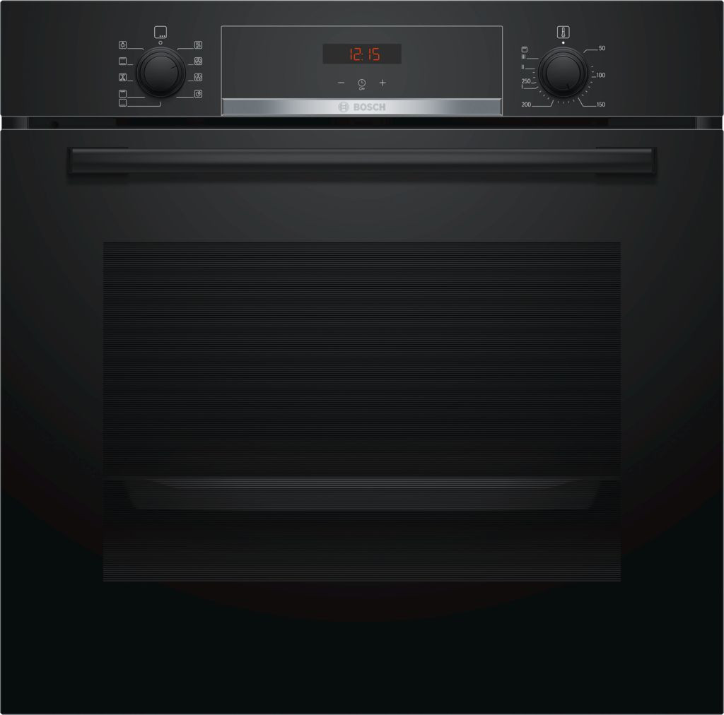 Bosch Serie 4 Brushed Steel Single Oven HBS534BB0B