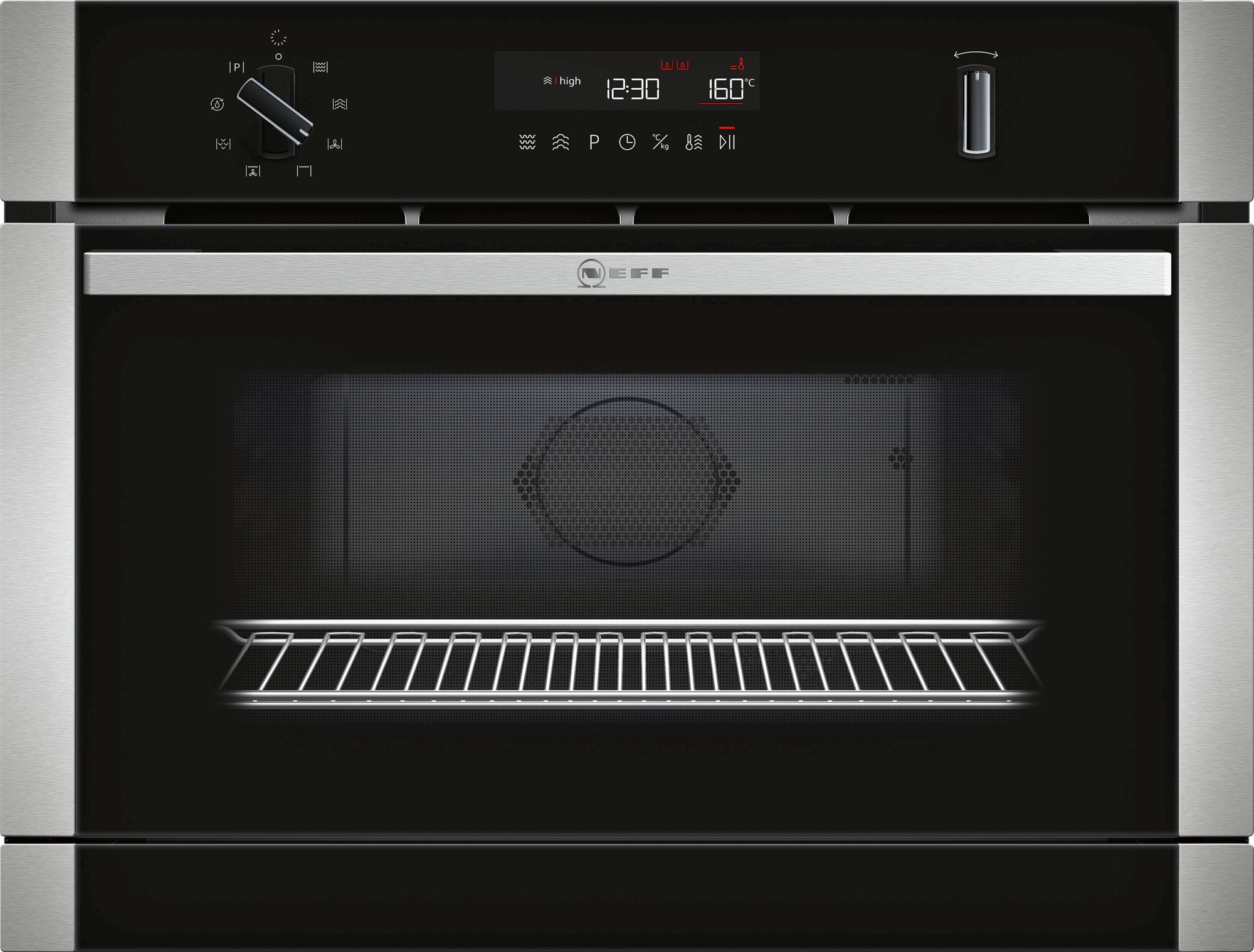 Neff N50 Compact 45cm Microwave Steam Combination Oven C1APG64N0B