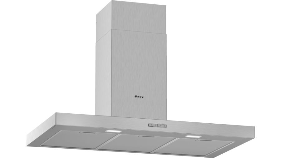 Neff N30 90cm Stainless Steel Box Chimney Hood D92BBC0N0B