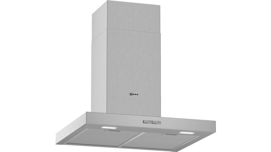 Neff N30 60cm Stainless Steel Box Chimney Hood D62BBC0N0B
