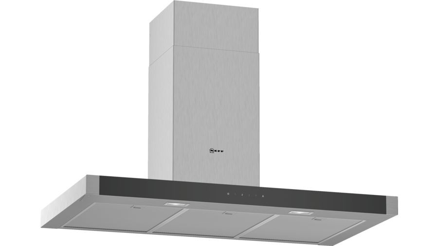 Neff N50 90cm Stainless Steel Box Chimney Hood D94BHM1N0B