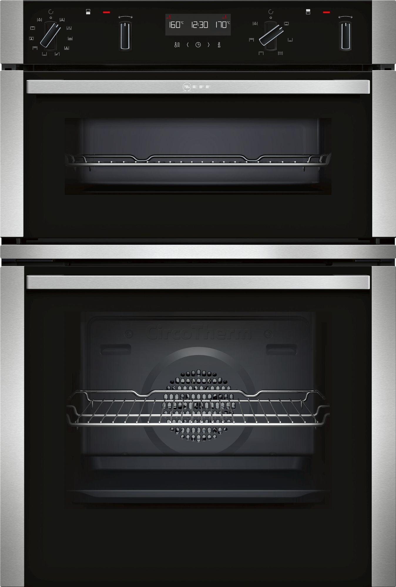 Neff N50 Double Pyrolytic Oven U2ACM7HH0B