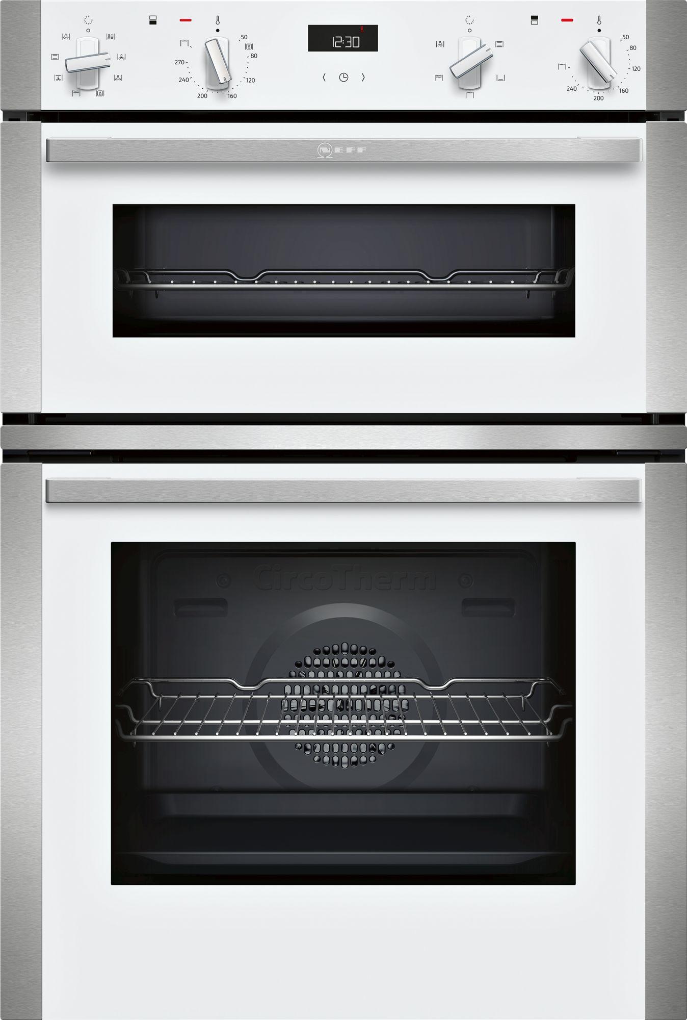 Neff N50 White Double Oven U1ACE2HW0B