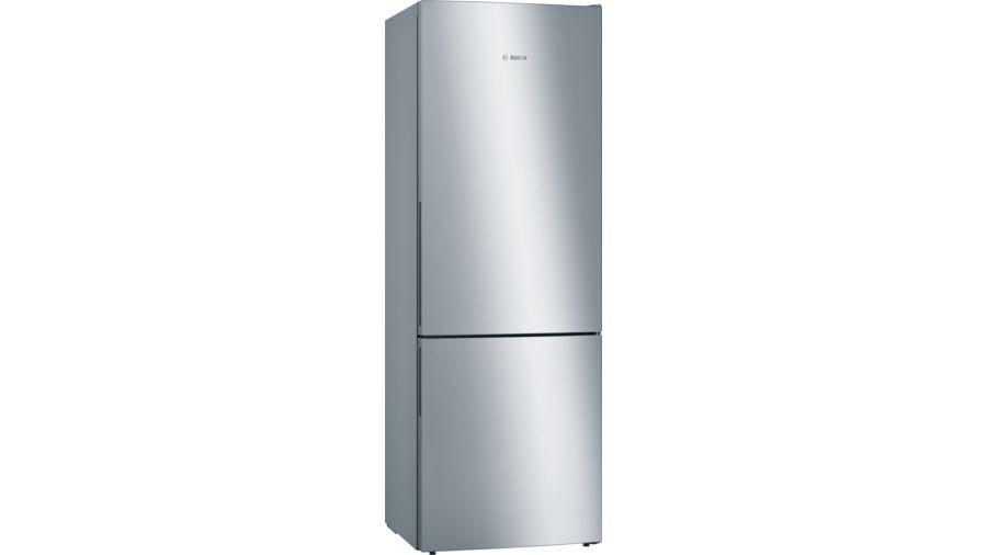 Bosch Serie 4 Freestanding Stainless Steel EasyClean Fridge Freezer KGE49AICAG