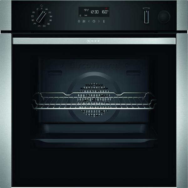 Neff N50 Slide & Hide Pyrolytic Single Oven With VarioSteam B4AVH1AH0B
