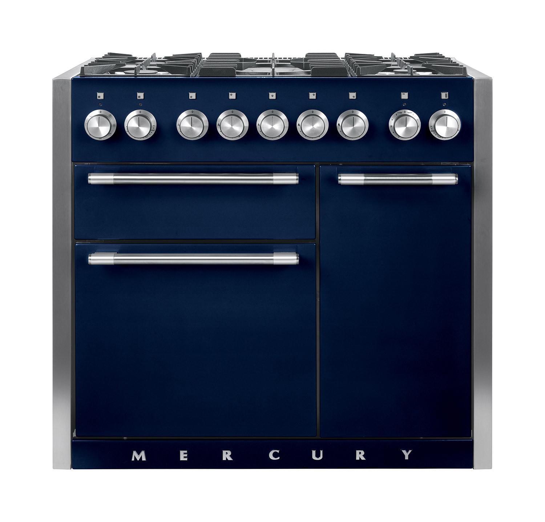 Mercury MCY1000DF Dual Fuel Indigo Range Cooker