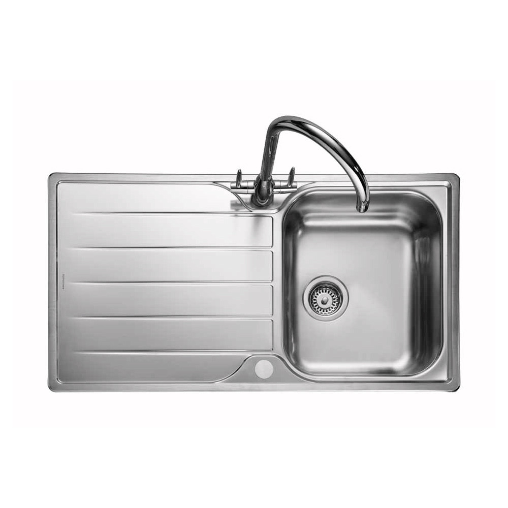 Rangemaster Michigan MG9501/ Single Bowl Stainless Steel Sink
