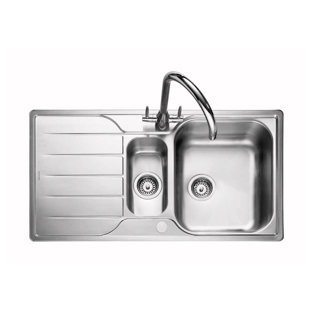Rangemaster Michigan MG9502/ 1.5 Bowl Stainless Steel Sink