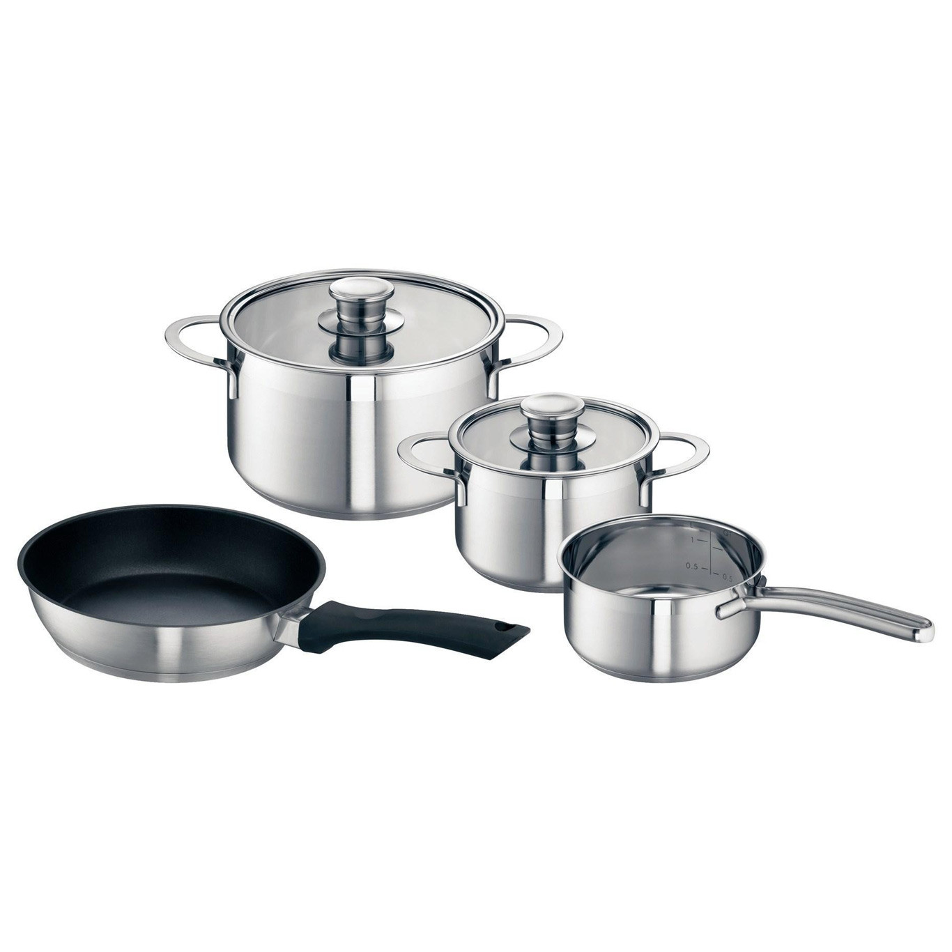 Neff Z9442X0 4 Piece Pan Set For Induction Hobs