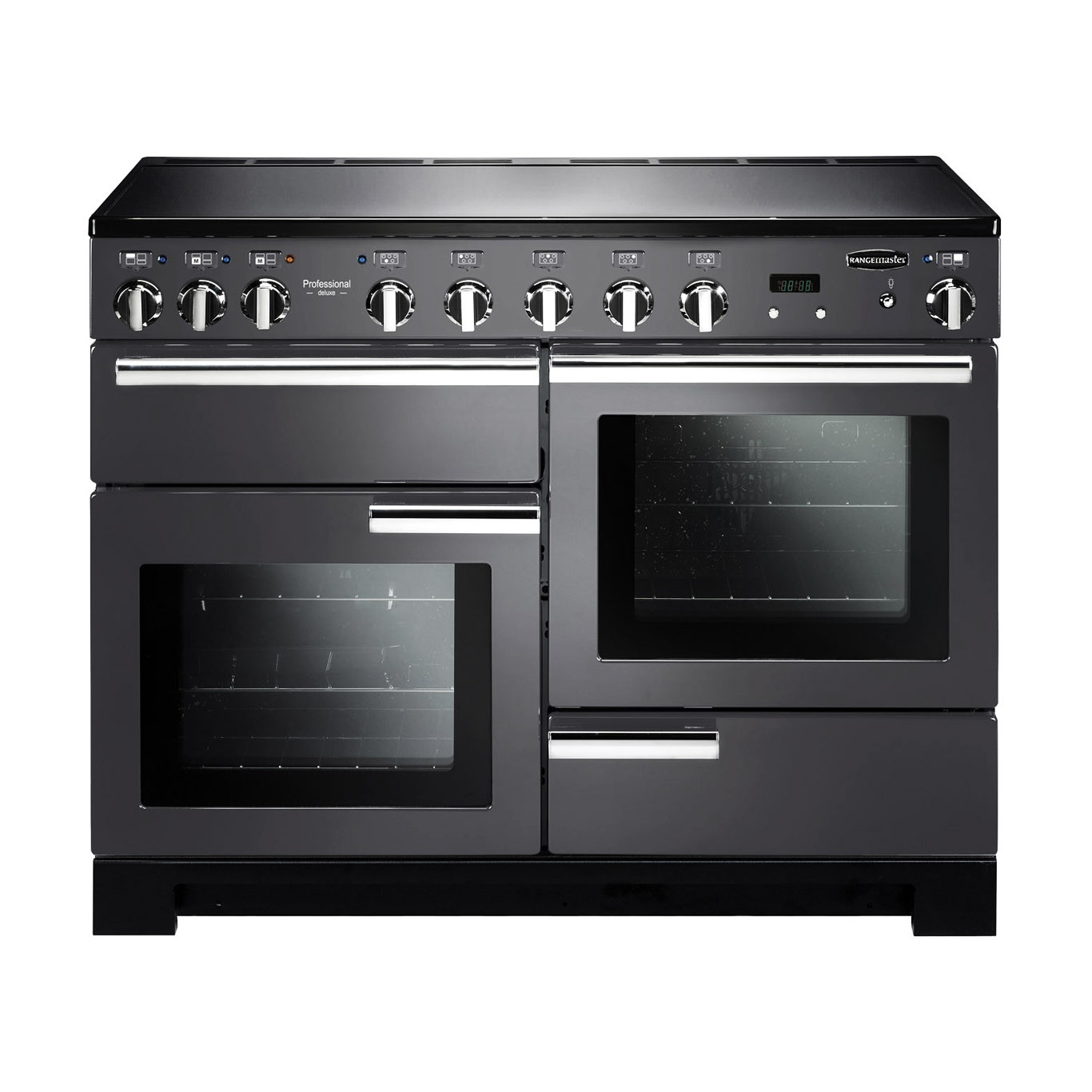 Rangemaster Professional Deluxe 110 Induction Slate Range Cooker 10591