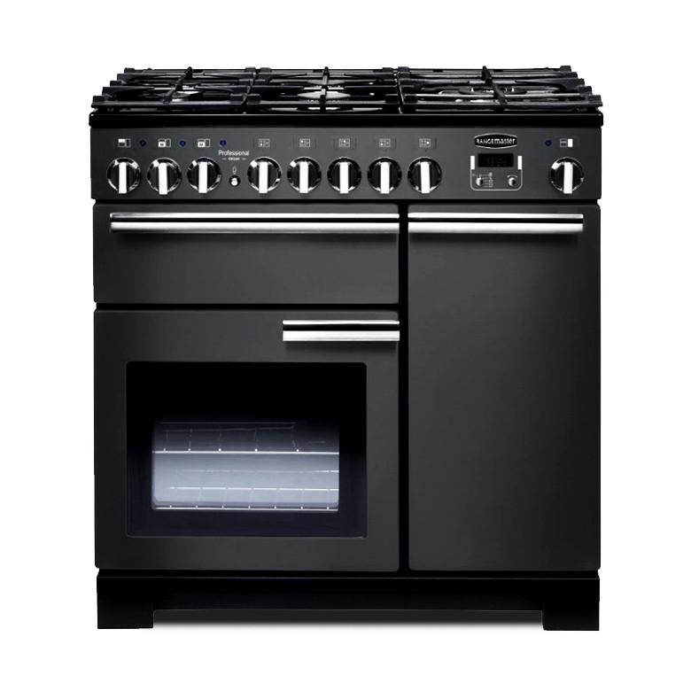 Rangemaster Professional Deluxe 90 Dual Fuel Slate Range Cooker 105950
