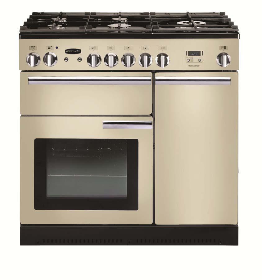 Rangemaster Professional Plus 90 Dual Fuel Cream Range Cooker PROP90DFFCR/C 91620