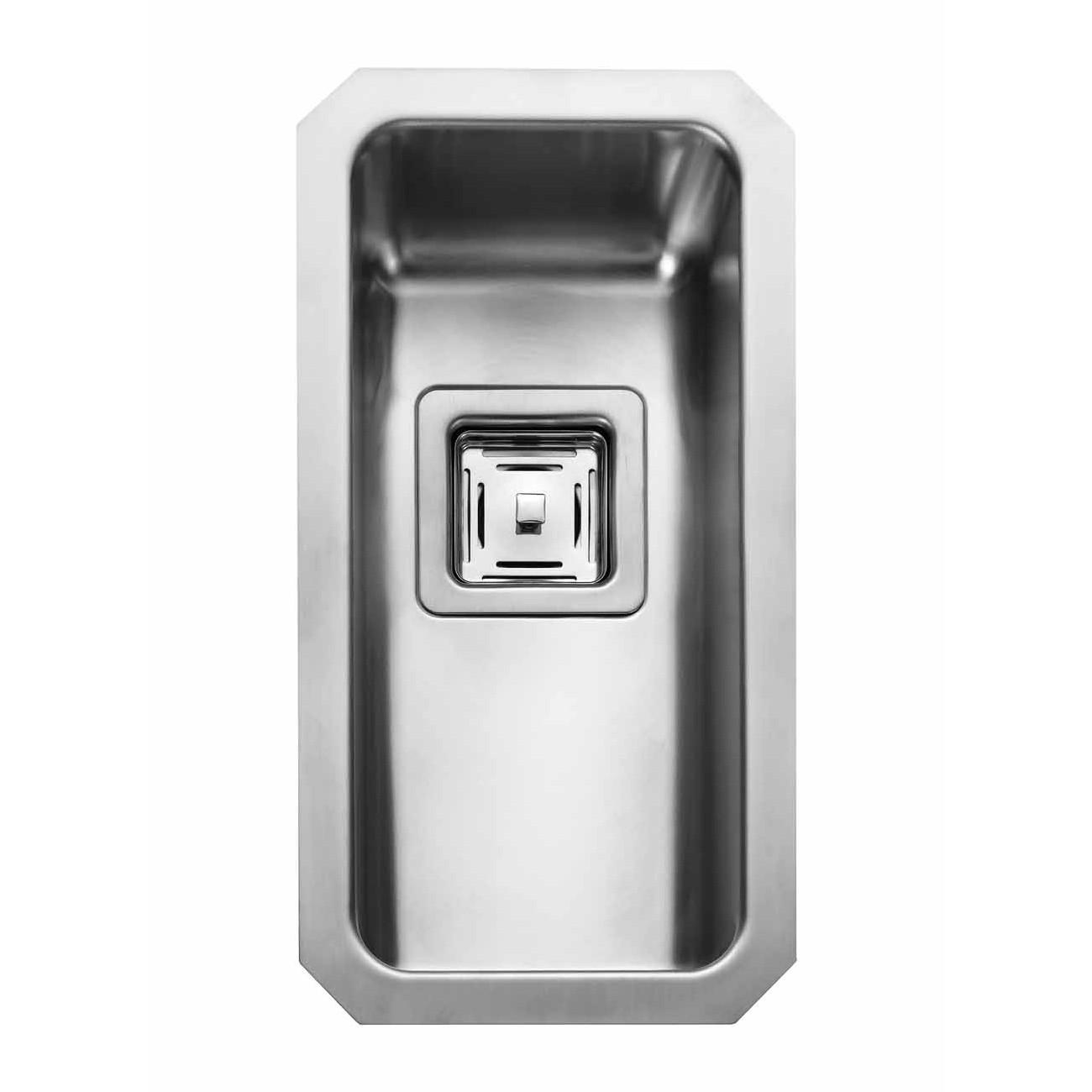 Rangemaster Quad QUB18/ Single Bowl Undermount Sink