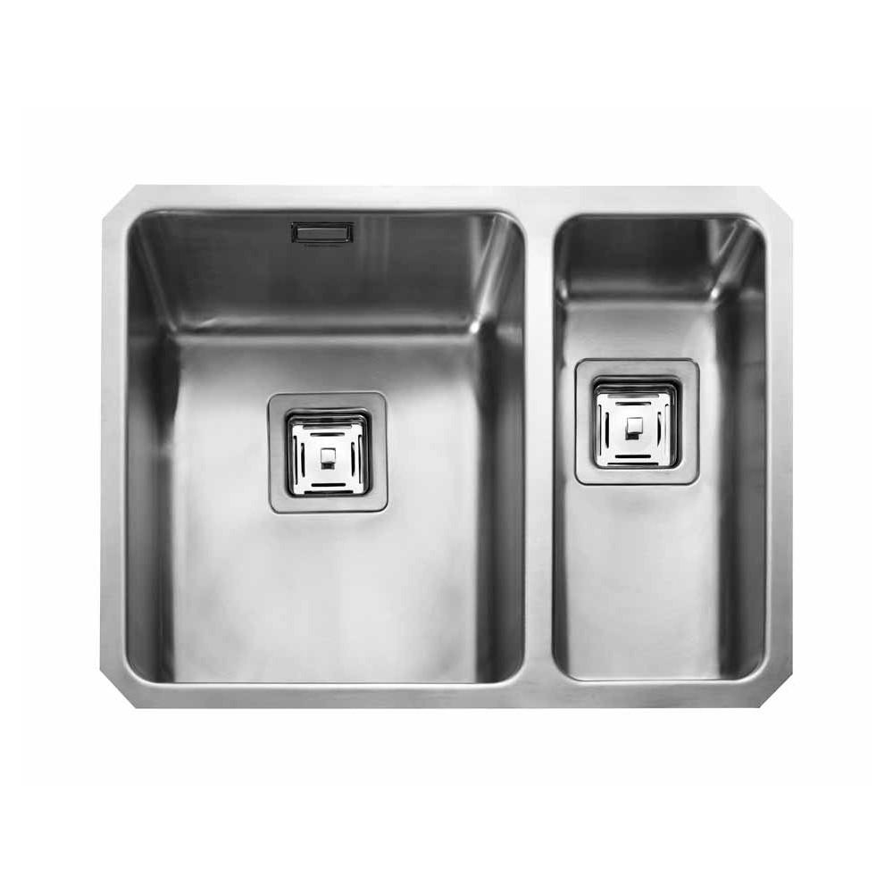 Rangemaster Quad QUB3418R/ 1.5 Bowl Undermount Sink Right