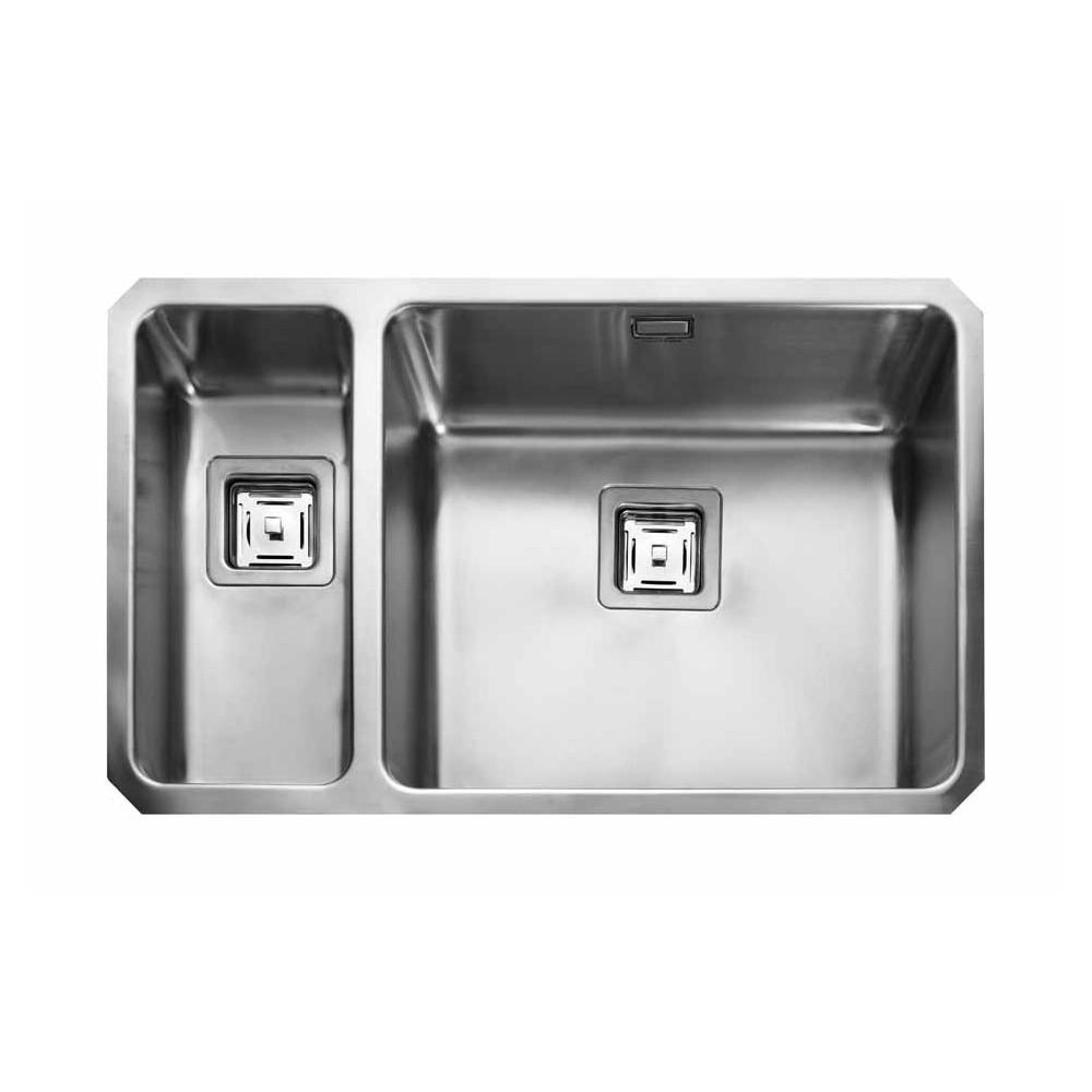 Rangemaster Quad QUB4818L/ 1.5 Bowl Undermount Sink Left
