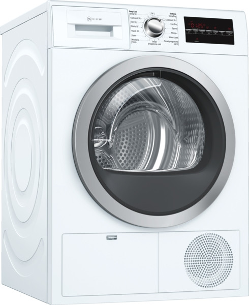 Neff R8580X3GB White Freestanding Condenser 9kg B Rated Tumble Dryer