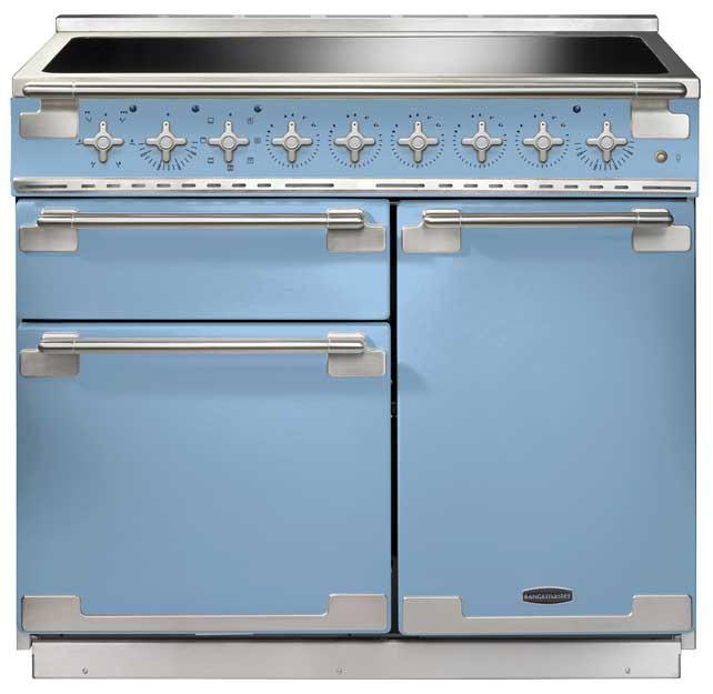 Rangemaster Elise 100 Induction China Blue Range Cooker 100190