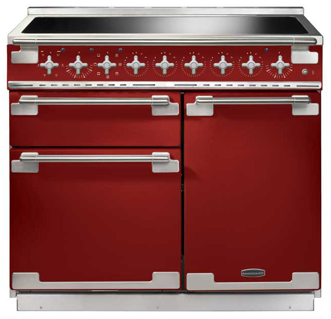 Rangemaster Elise 100 Induction Cherry Red Range Cooker ELS100EIRD/ 100220