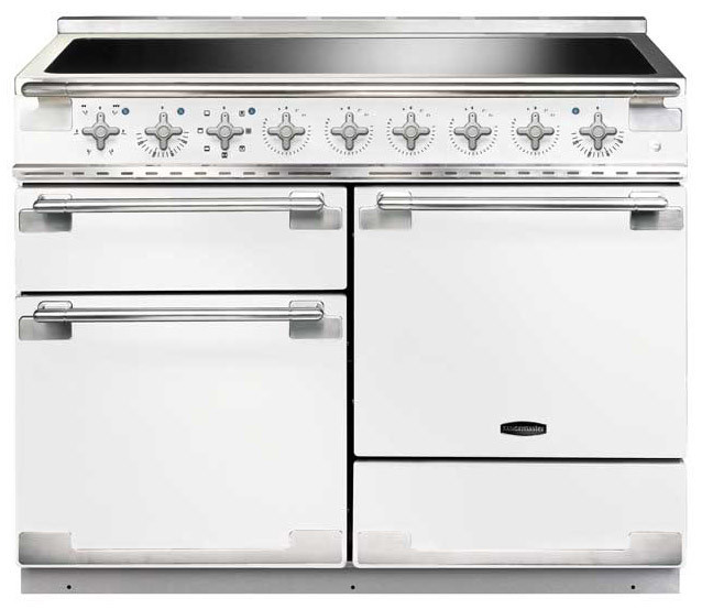 Rangemaster Elise 110 Induction White Range Cooker ELS110EIWH/ 100370