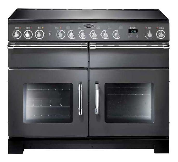 Rangemaster Excel 110 Ceramic Slate Range Cooker 10558