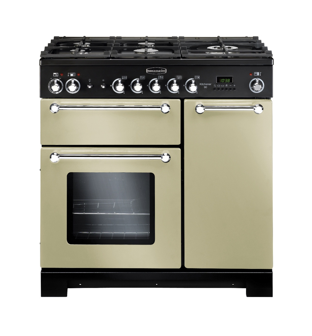 Rangemaster Kitchener 90 Dual Fuel Cream Range Cooker 81440