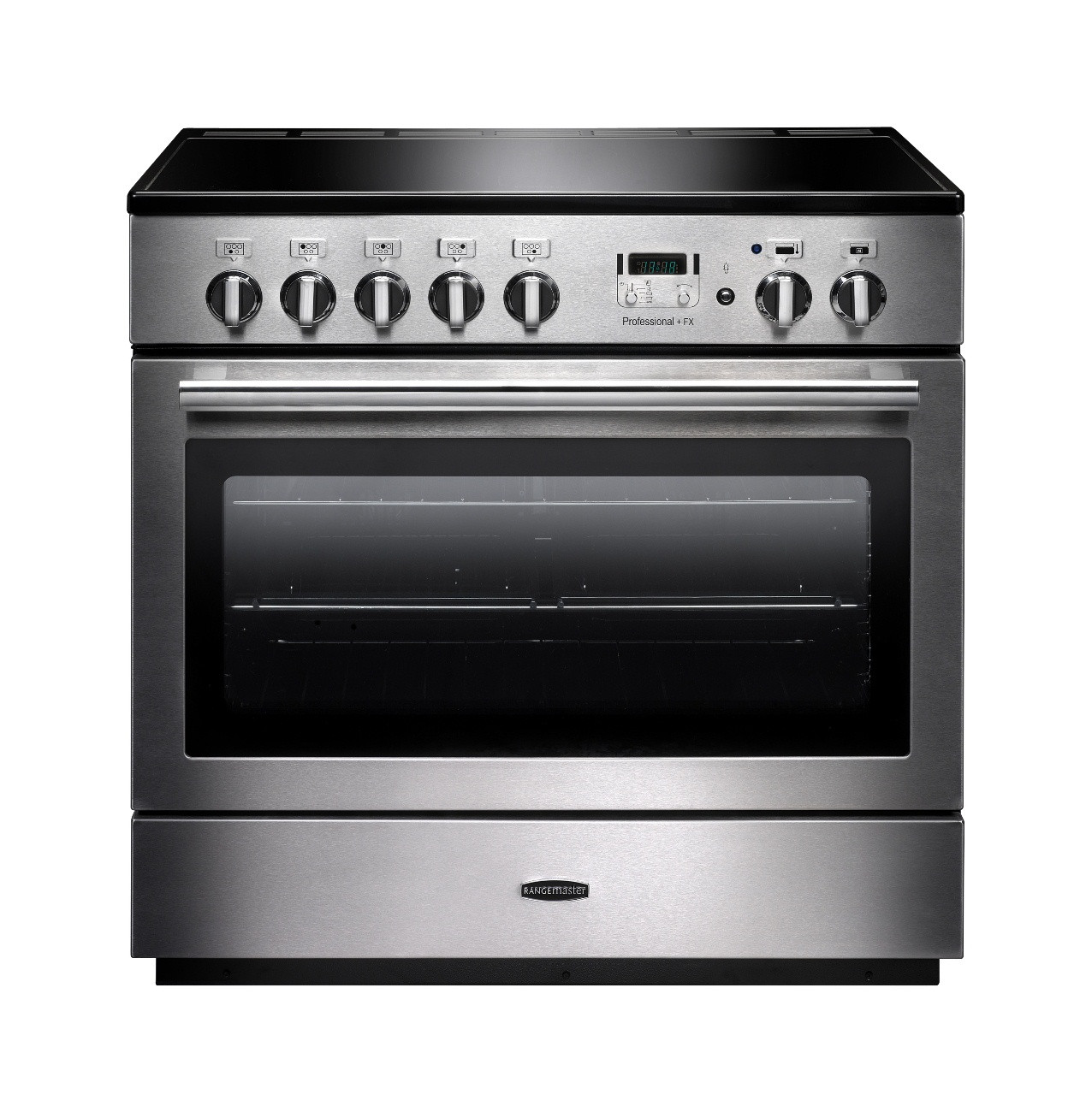 Rangemaster Professional Plus FX 90 Induction Stainless Steel Range Cooker PROP90FXEISS/C 96300