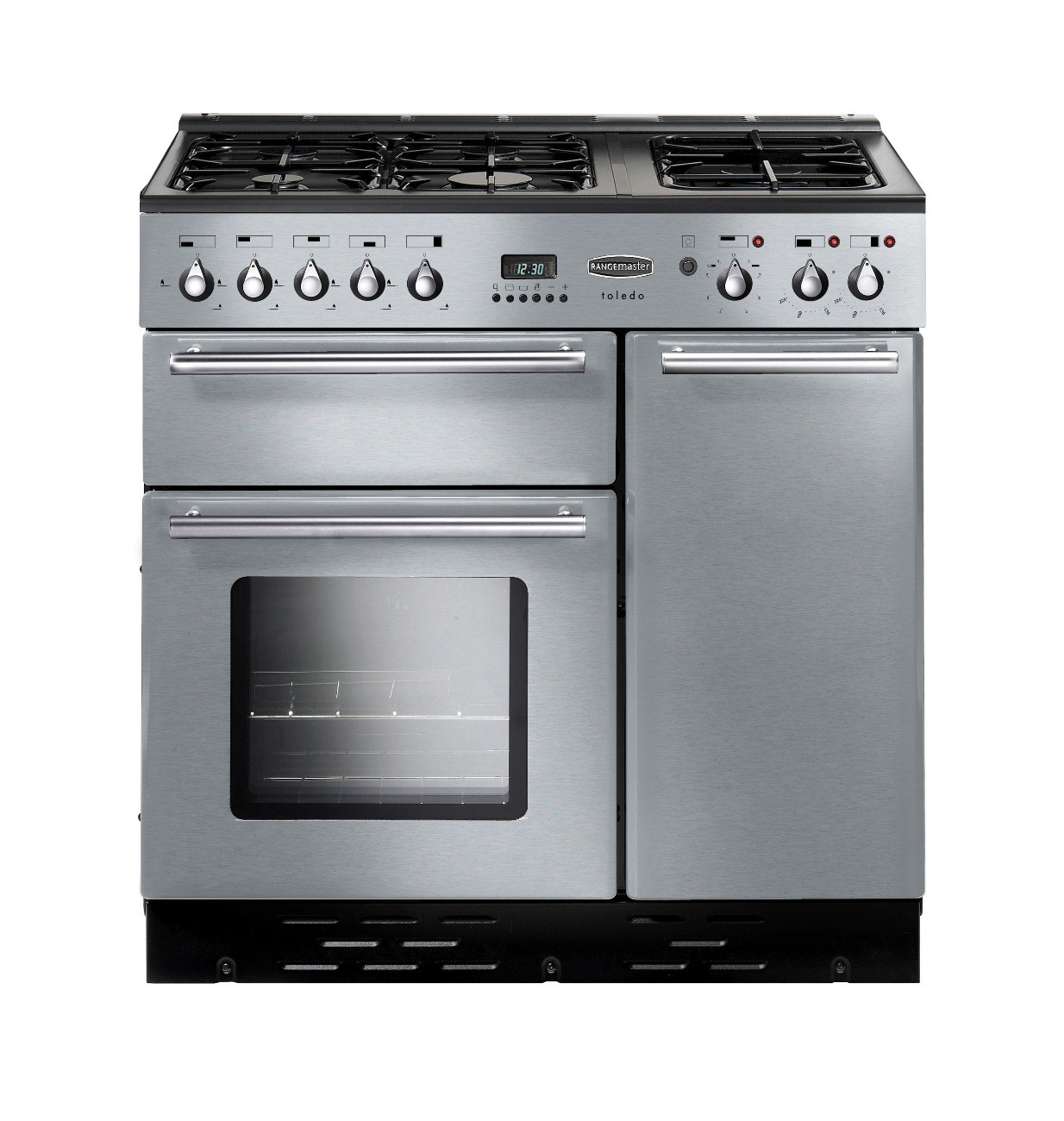 Rangemaster Toledo 90 Natural Gas Stainless Steel Range Cooker 73580