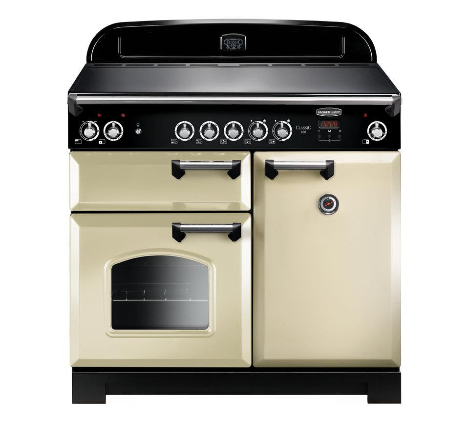 Rangemaster Classic 100 Induction Cream Range Cooker CLA100EICR/C 117130