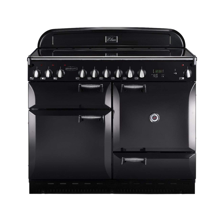 Rangemaster Elan 110 Ceramic Black Range Cooker 75180