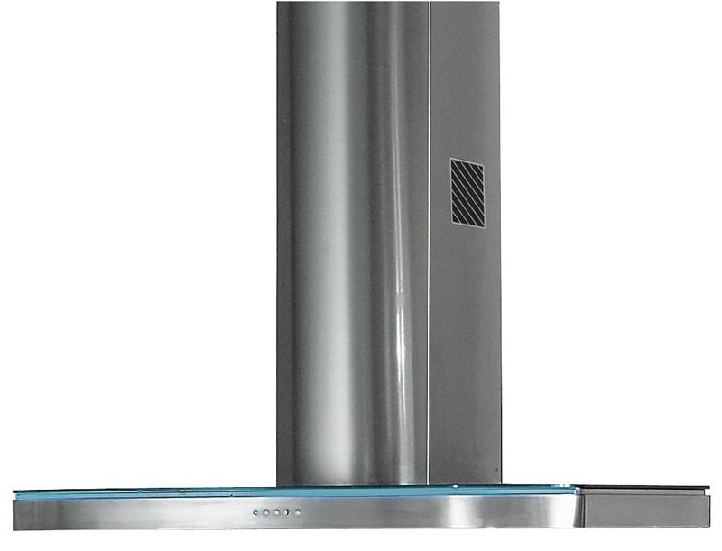 Rangemaster Elite 110cm Stainless Steel Glass Chimney Hood ELTHDC110SG/ 69230