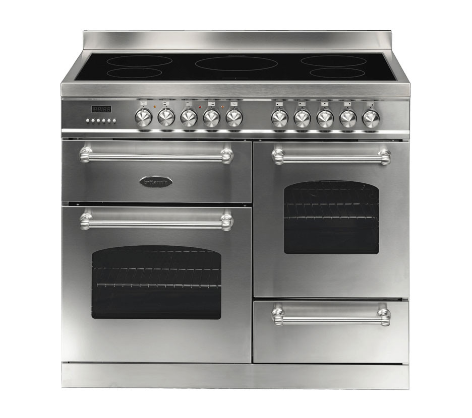 Britannia Fleet 100 XG - 5 Induction Zones Stainless Steel Range Cooker